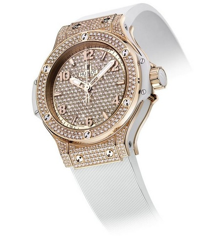 Big Bang Gold White Full Pavé-Set lo último de Hublot