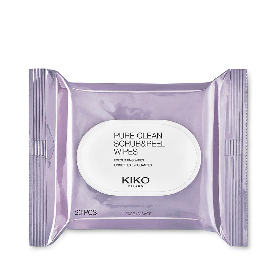 Pure Clean Scrub&Peel 20 toallitas 2 en 1 para exfoliar en profundidad y refrescar el rostro