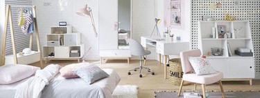 17 adorables escritorios para crear una zona de estudio o trabajo en el dormitorio