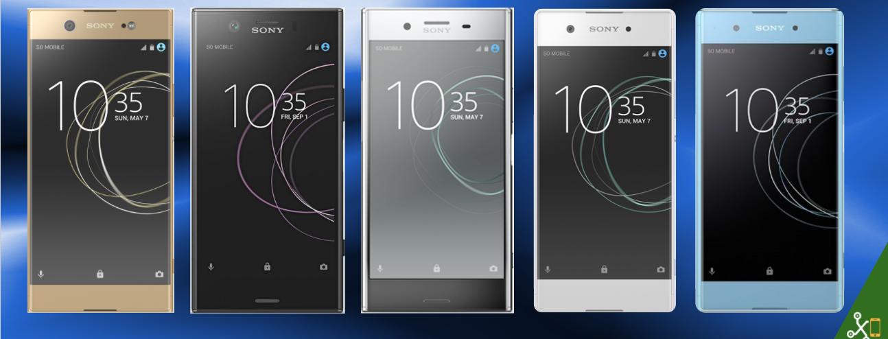Sony Xperia XZ1, XZ1 Compact y XA1 Plus, así encajan dentro del ...