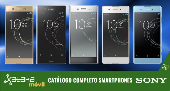 Sony Xperia XZ1, XZ1 Compact y XA1 Plus, así encajan dentro del catálogo completo de smartphones Sony en 2017
