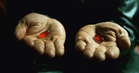 Matrixbluepillredpill Red
