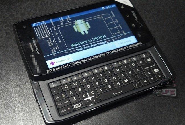 Motorola Droid/Milestone 4