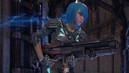 Quake Champions presenta a Nyx en su nuevo tráiler cargado de acción