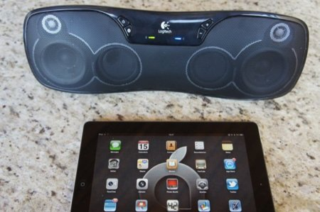 Logitech Wireless Boombox conectado por Bluetooth con mi iPad 2