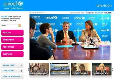 Unicef TV, nuevo canal de televisión Unicef