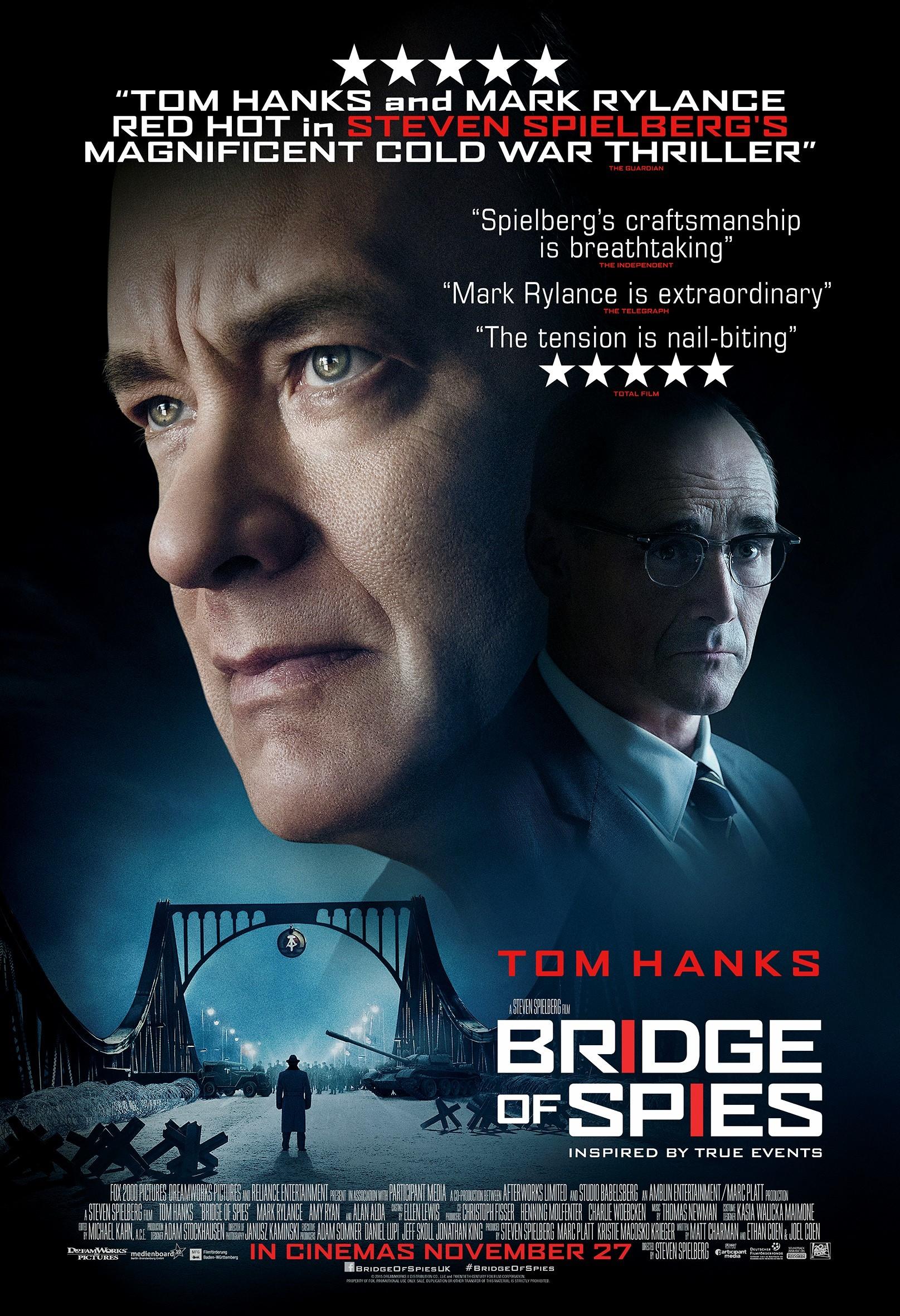 Foto de 'El puente de los espías' ('Bridge of Spies'), los carteles (5/6)