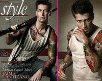 Jaime Cantizano irreconocible en la revista 'Shangay'