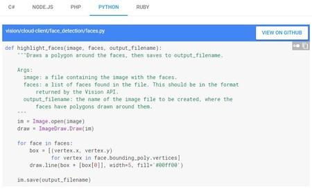 Ejemplo de código para ML en Python