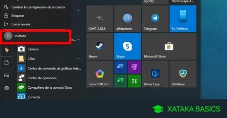 Cómo crear la cuenta de invitado en Windows 10 y para qué sirve