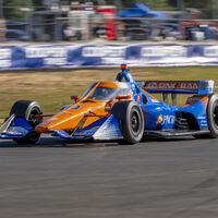 Álex Palou gana su tercera carrera en la IndyCar, recupera el liderato y podría ser campeón ya en Laguna Seca