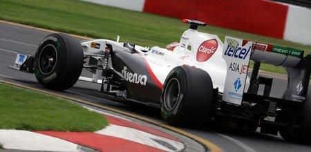 GP Australia F1 2011: Descalificados los dos Sauber por irregularidades en su alerón trasero