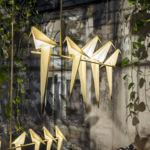 El origami también triunfa en iluminación con estas lámparas de Umut Yamac
