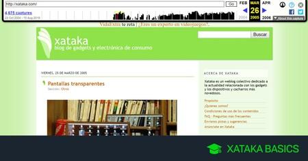 Cómo ver una versión antigua de una web: con la cache de Google y Archive.org