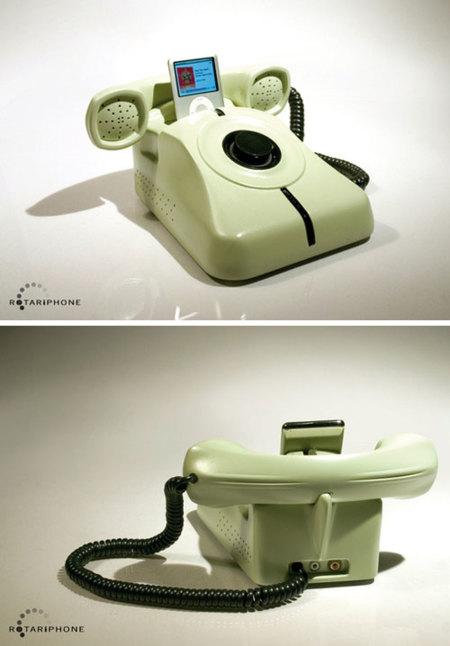 RotariPhone, un dock para el iPod de lo más retro