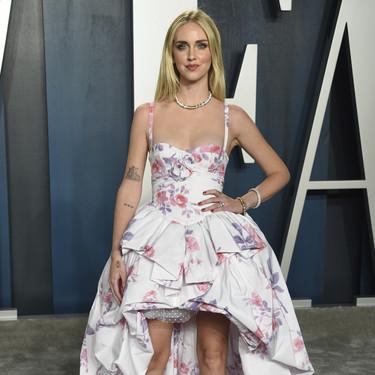 Chiara Ferragni deslumbra en la fiesta post-premios Oscars 2020 con un vestido de Philosophy firmado por Lorenzo Serafini