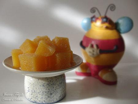 Golosinas caseras de fruta fresca. Receta