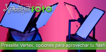 Presslite Vertex, opciones para aprovechar tu flash