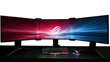 Asus quiere que transformemos tres monitores en una sola pantalla y cumplamos nuestro sueño de ser más productivos