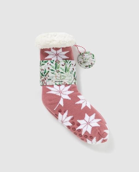 calcetines gorditos para estar por casa
