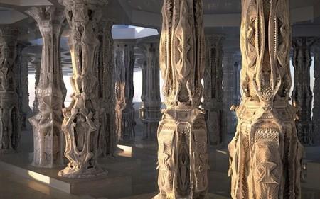 [Vídeo] Imprimiendo una habitación en 3D que recuerda a 'Alien'