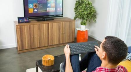 El nuevo teclado de Microsoft se acuerda de los dispositivos de salón e incluye trackpad