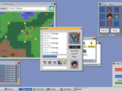 Kingsway, el juego de rol que transcurre en un sistema operativo