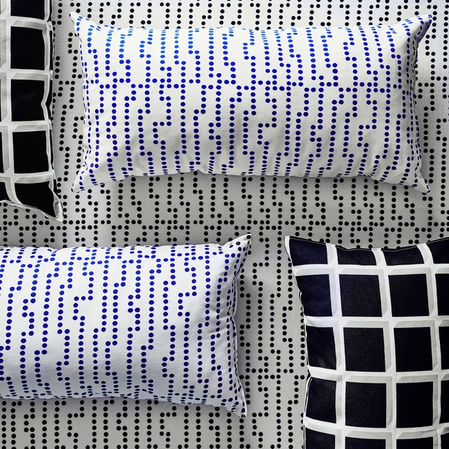 Ikea Coleccion Avsiktlig 2017 Ph141905 Cojin Algodon Blanco Azul Lowres