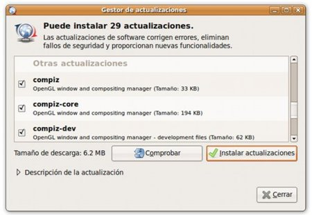 Actualizar Compiz Fusion 0.7.6