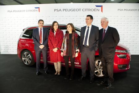 Coche autónomo PSA España