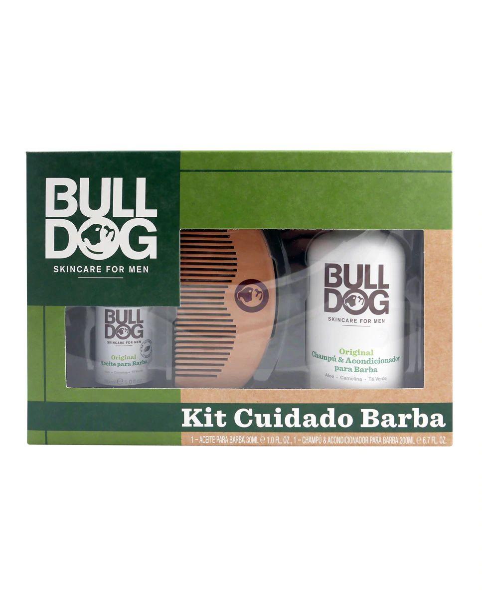 Estuche de regalo Kit Cuidado Barba Original Bulldog