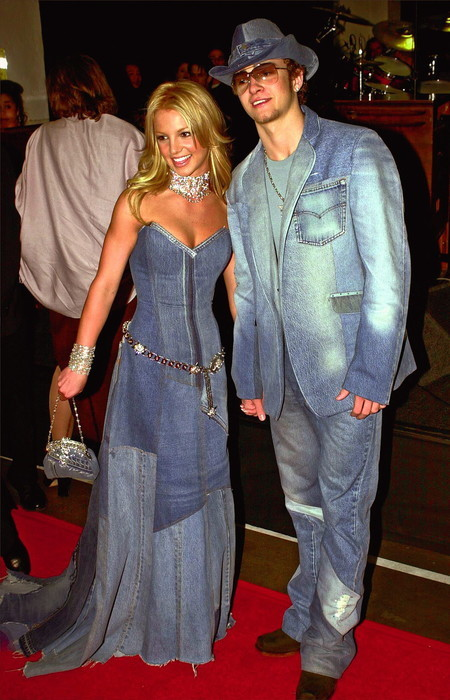 Britney y Justin Timberlake absolut denim