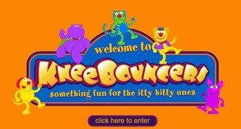 Kneebouncers, juegos en línea para bebés