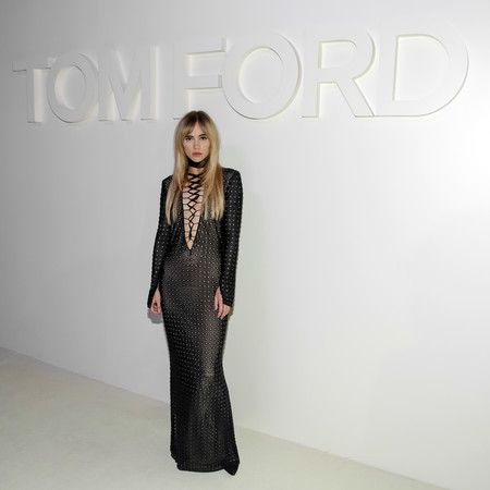 tom ford desfile ss 2019 frontrow suki waterhouse