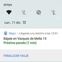 Novedades en Google Maps: aviso de próxima parada en transporte público, rutas habituales y más