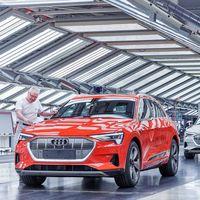 Los cuellos de botella ahogan al Audi e-tron: la firma detiene temporalmente la producción del SUV eléctrico en Bruselas