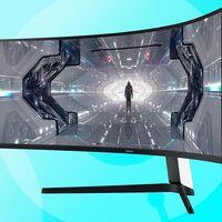 El bestial monitor gaming Samsung Odyssey G9 LC49G93TSSRXEN vuelve a estar en oferta en Amazon por 1.269,99 euros