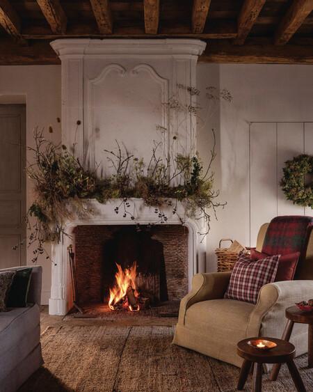 Decoracion De Navidad Rustica Y Natural
