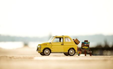 Lego Fiat 500f 12