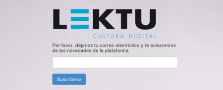Nace Lektu, plataforma de venta de ebooks sin DRM