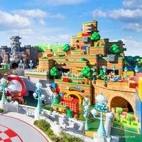 Super Nintendo World ya muestra imágenes y vídeos reales: así es el parque de atracciones de Mario que abrirá en Japón en febrero