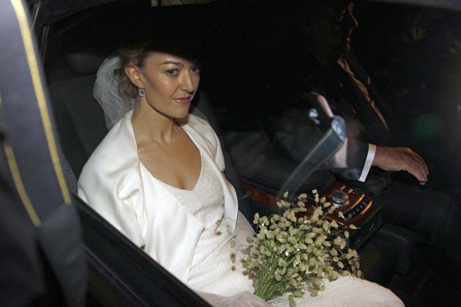 Marta Ortega boda novia
