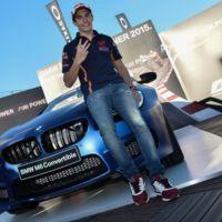Marc Márquez ampliará su garaje para hacerle sitio al BMW M6 Cabrio que acaba de ganar