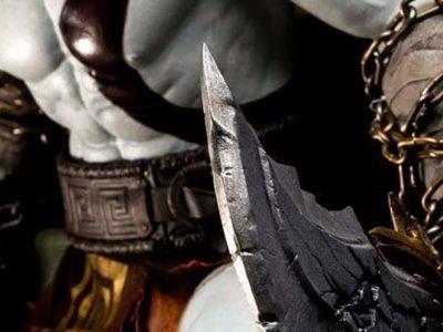 Sony revela una estatua de Kratos y el anuncio de God of War 4 parece inminente