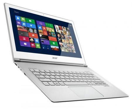 Acer Aspire S7, ultrabooks con pantalla táctil y Windows 8