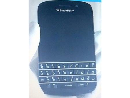 BlackBerry N-Series, las primeras imágenes del móvil de teclado QWERTY con BlackBerry 10
