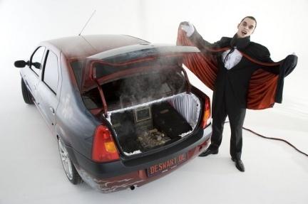 Dacia Logan de Drácula