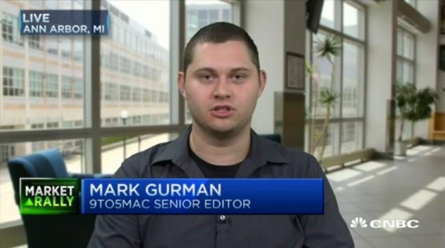 Mark Gurman Cnbc