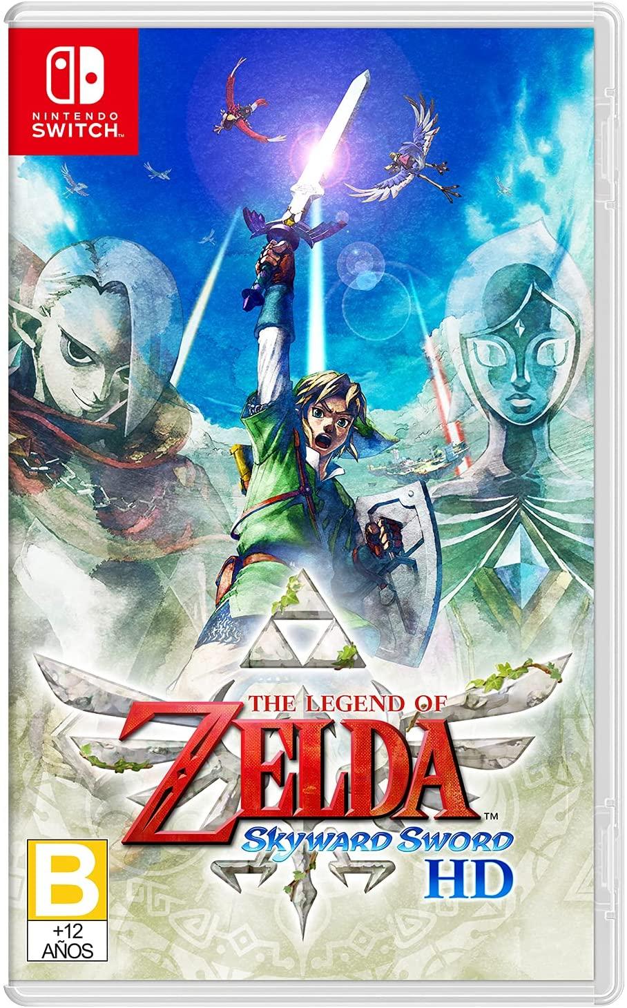 The Legend of Zelda: Skyward Sword HD ya disponible