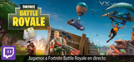 Streaming de Fortnite: Battle Royale a las 17:00h (las 10:00h en Ciudad de México)